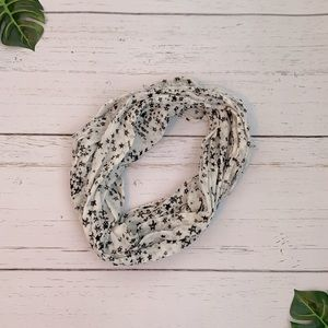 2 for $10 Glitter Accent Star Infinity Scarf